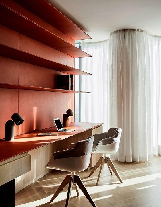 Office Interior Design Ideas - Design Files - Office design - red office designs