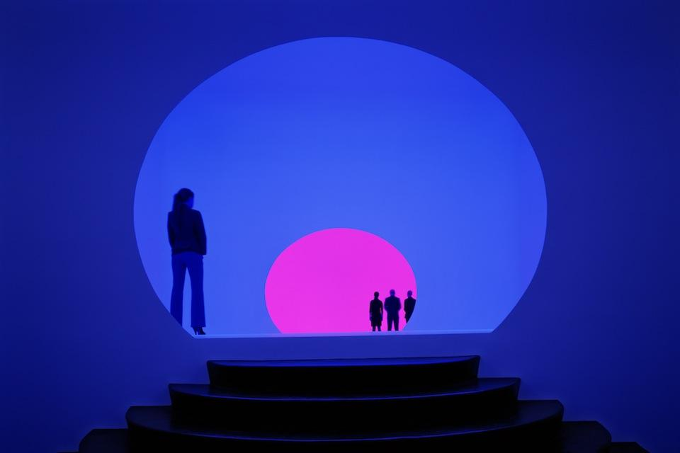 things to do in las vegas - akhob by james turrell las vegas louis vuitton - aria fine art collection - Photo via Montecristo Magazine