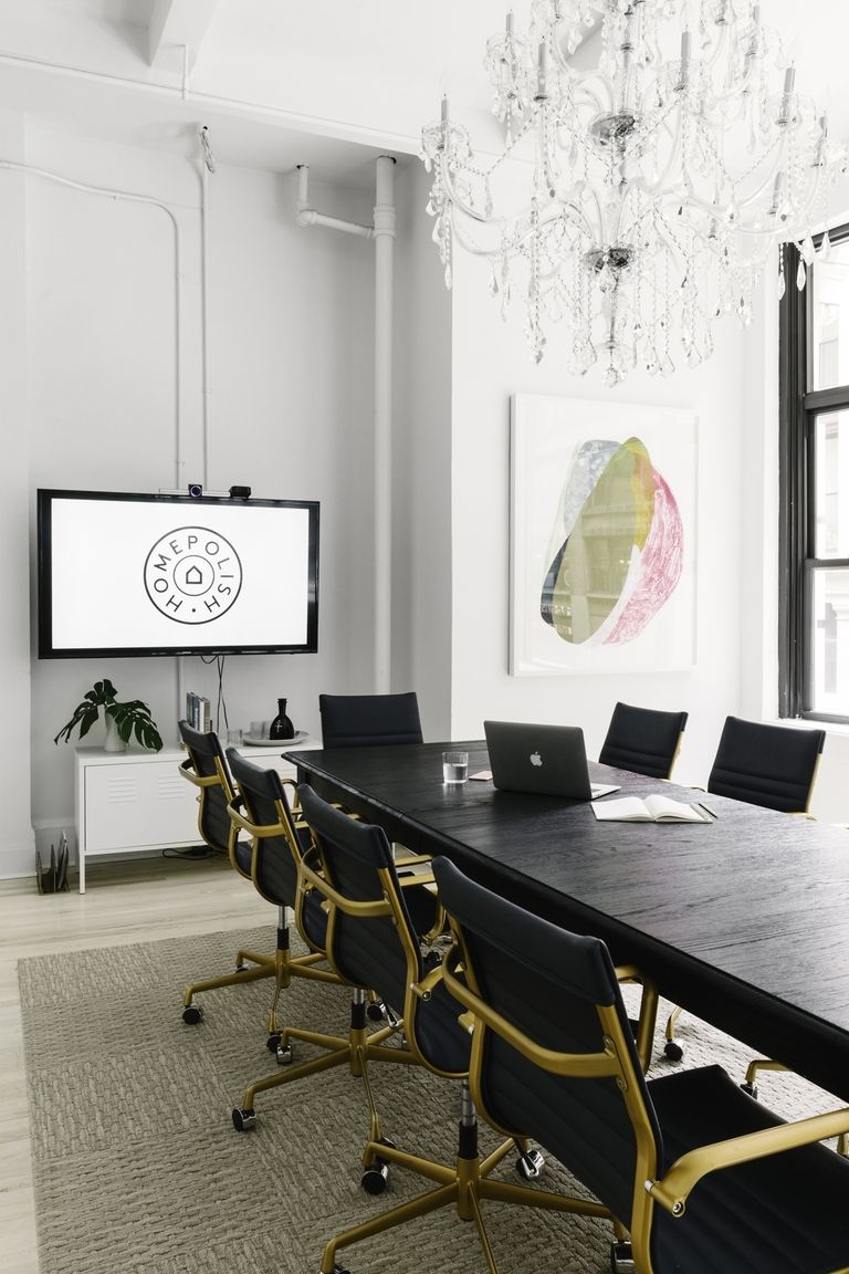 Office Interior Design Ideas   Homepolish Office   Photo By Julia Robbs    Office Design