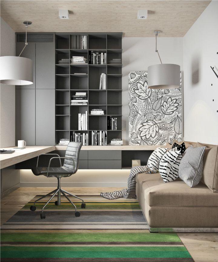 Office design ideas - modern office design - ergonomic chairs - ergonomic seating