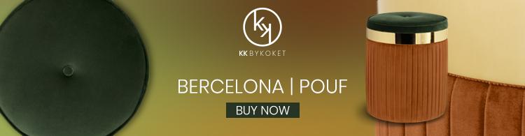 barcelona pouf seat by kk by koket