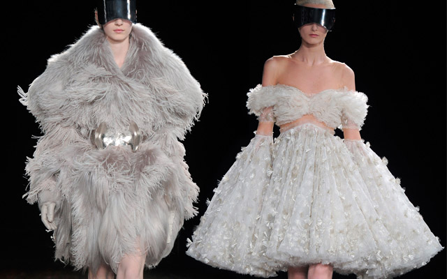 Peculiar luxuries by Alexander McQueen