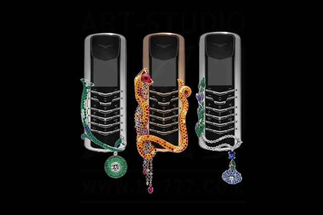 Boucheron has created this seductive phone for Vertu  VERTU PHONE imageboucheron 2