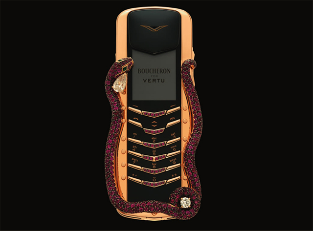 Boucheron has created this seductive phone for Vertu  VERTU PHONE imagemboucheron post