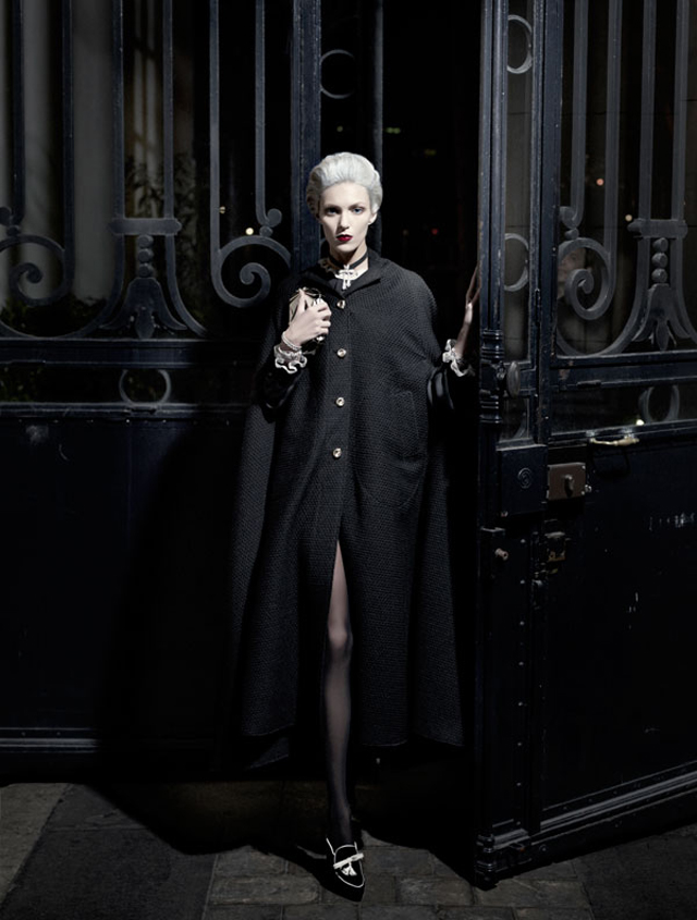 The Old New Glamour by Karl Lagerfeld