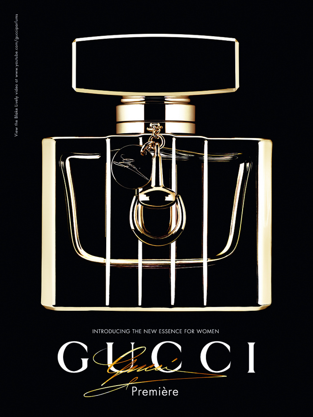 The new fragrance of Gucci: Gucci Première