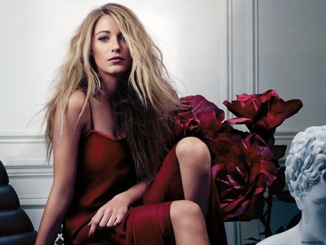 Gucci Première campaign picture with Blake Lively
