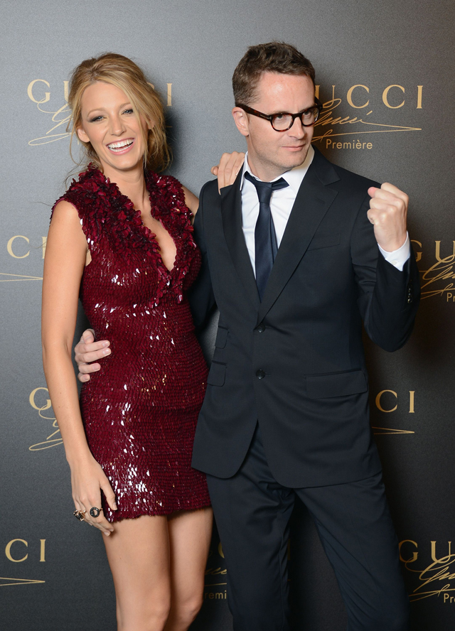 Blake Lively at Gucci Premiere Fragrance Launch