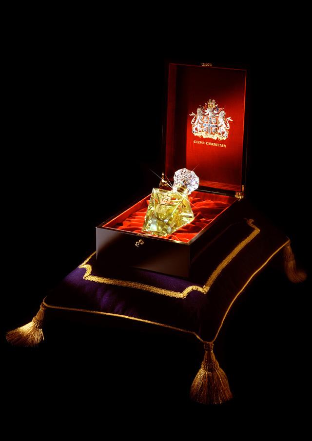 No.1 perfume, in a royal box