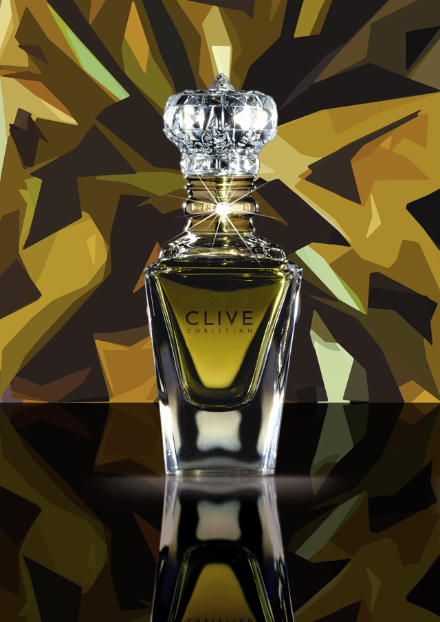 Clive Christian bottle perfume