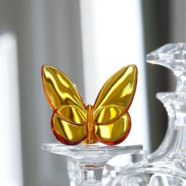 Lucky Butterfly in crystal