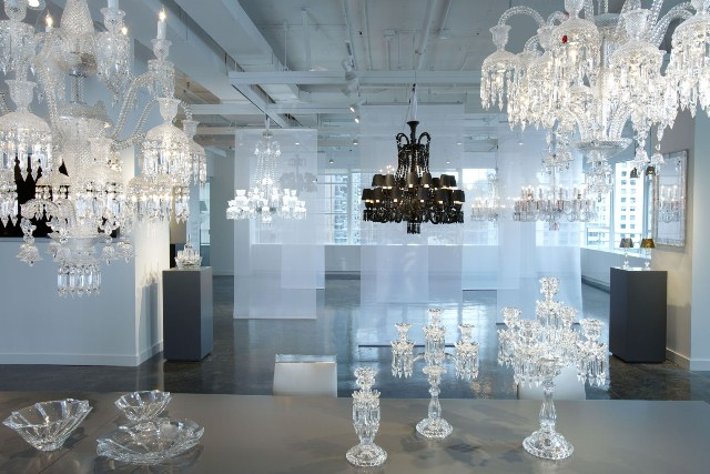 Although they are not its only specialty, Baccarat Crystal has gain recognition due to its outstanding chandeliers
