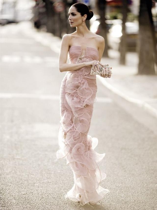 Soft Pink dress Inspiration