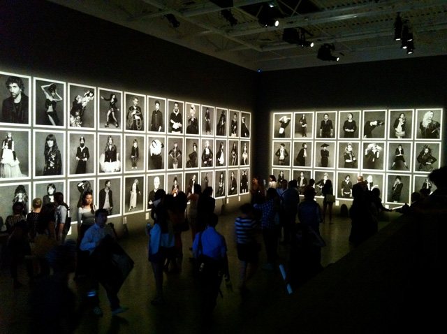 Chanel Photo Exhibition in an art gallery