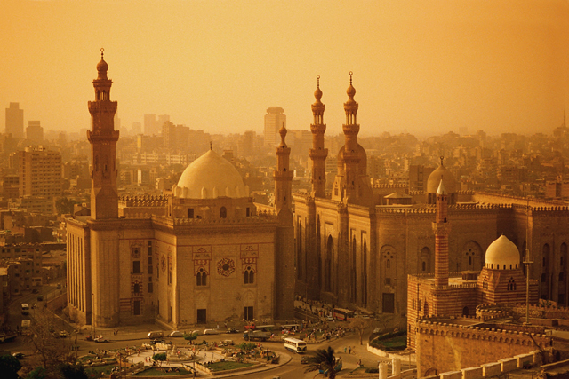 Mosques of Sultan Hasan and al-Rifa'i Seen from the Citadel  My trip to Egypt Image 4