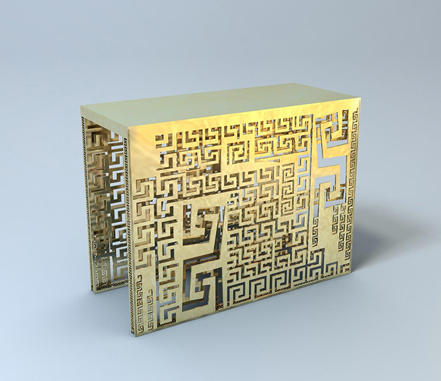 Side Table by Versace