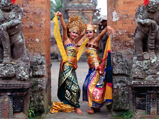 Indonesian Dancers  My Business Trip to Asia Indonesia 15