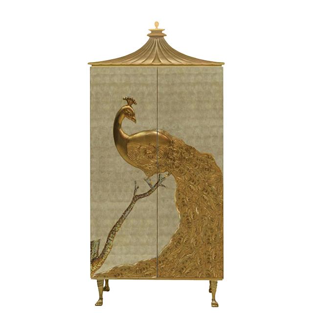 koket  KOKET & THE GLOBAL FUND FOR WIDOWS camilia armoire