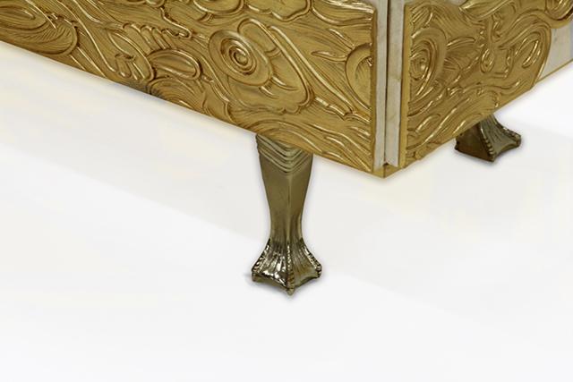 koket  KOKET & THE GLOBAL FUND FOR WIDOWS camilia armoire detail