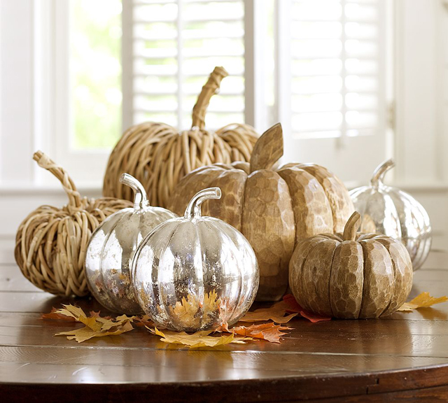 Stunning pumpkins' decoration for Thanksgiving