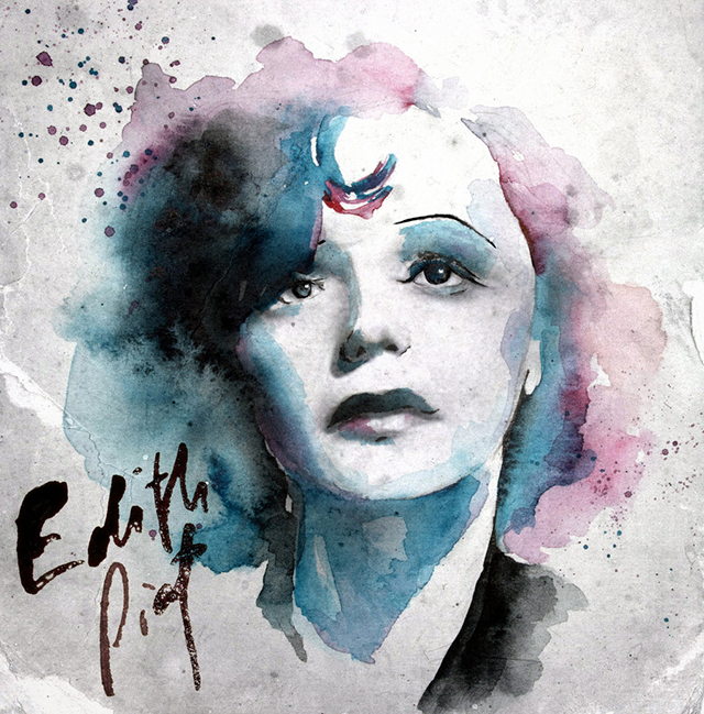 Edith Piaf Child Edith Piaf by Yumnu
