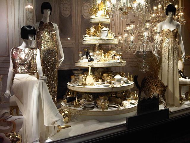 Dior Christmas Vitrines of Printemps