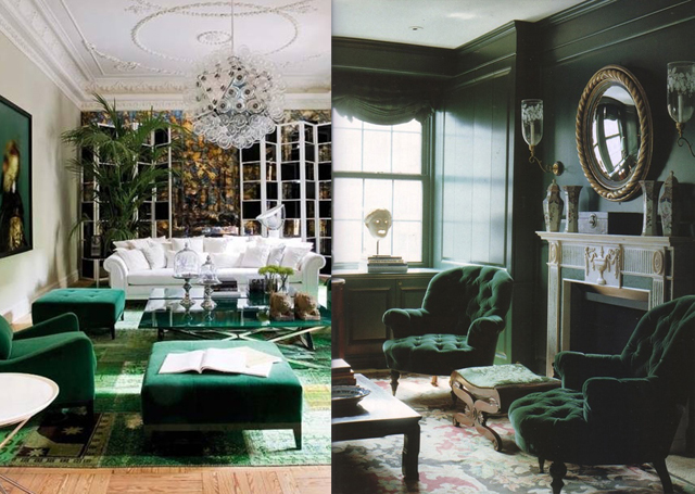 Well-being at home with Emerald Green Emerald Green, PANTONE's color of the year Emerald Green, PANTONE's color of the year Enhance your sense of well being at home