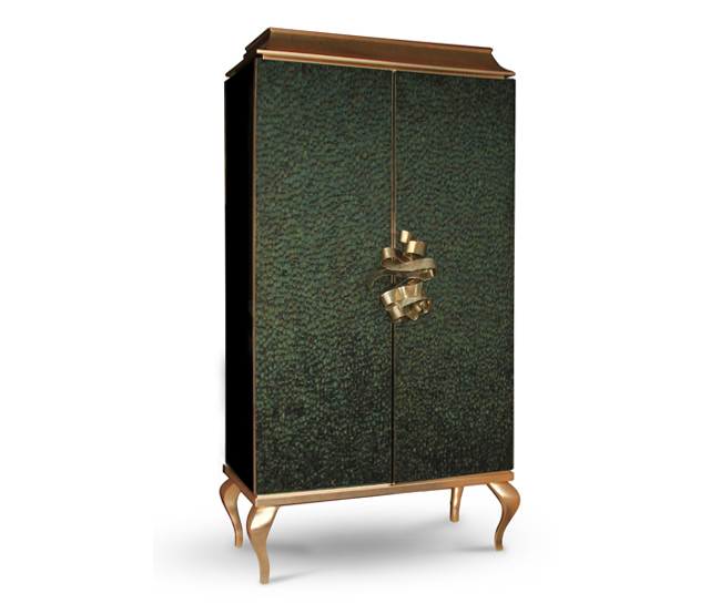 Divine Armoire, by KOKET Emerald Green, PANTONE's color of the year Emerald Green, PANTONE's color of the year divine