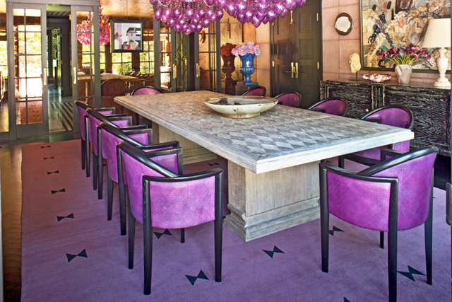 Kelly Wearstler interiors - dining room