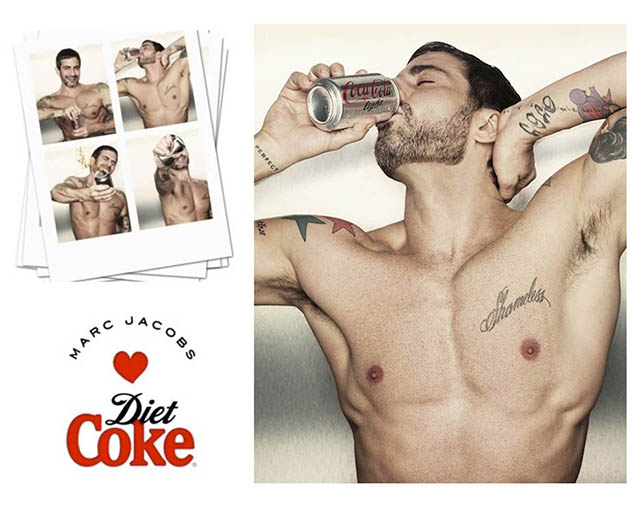 MARC JACOBS   MARC JACOBS-DESIGNED DIET COKE CANS UNVEILED 018