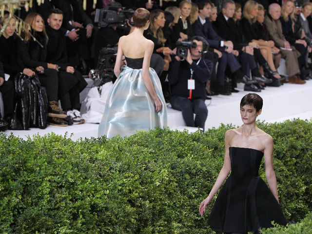 Christian Dior Couture Spring 2013 at Paris Fashion Week