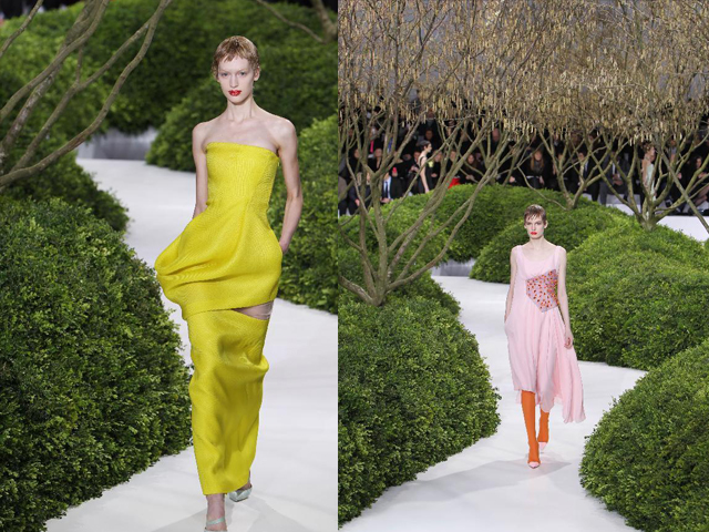 Christian Dior Couture Spring 2013 - dresses
