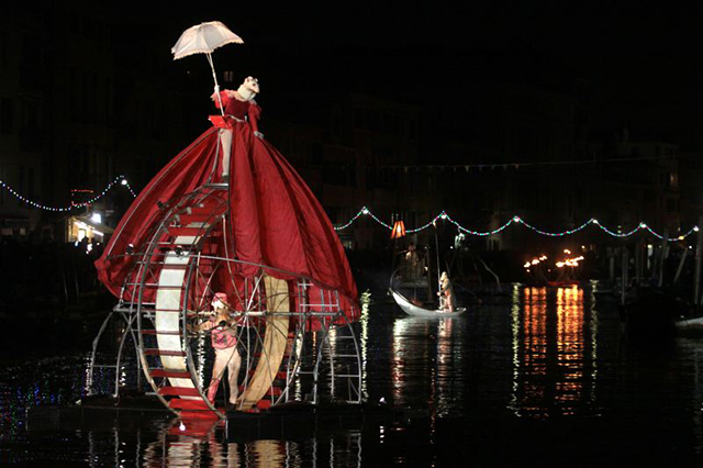 My short stop to Carnival in Venice, Italy