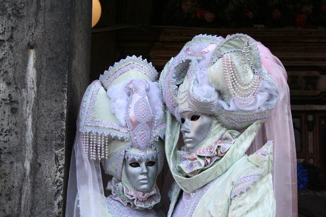 Venice Carnival - Masked couple