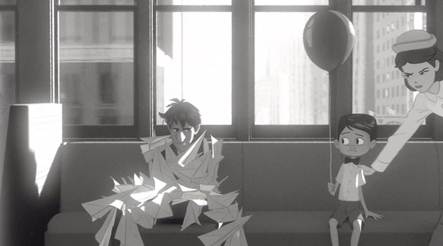 Paperman: love story in New York City