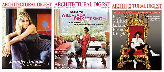 Best interior design magazines: Architectural Digest