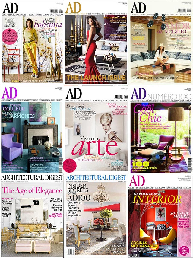 Best interior design magazines: Architectural Digest Best interior design  magazines: Architectural Digest Best interior