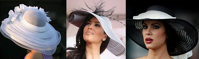 The Kentucky Derby was initially a horse racing but as the time passed by it has become a celebration of fashion and design as women from all over the globe strut-their-stuff to show off their chic ladies Kentucky Derby hats. Women's Hats Women's Hats Kentucky Derby Hats