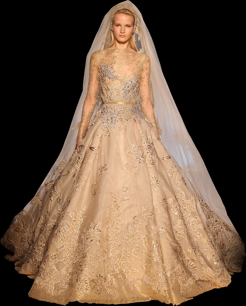 If Youre Choosing For An Autumn Wedding This Is Another Elie Saab