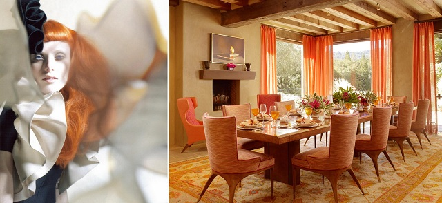 Nectarine, a bright, effervescent citrus orange with coral undertones, provides a tangy burst of flavor.   TOP Summer Color Trends for 2013 top summer color trends 2013 nectarine