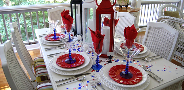 We have some of the best ideas for the most American Holiday to inspire you. Decorate your home with stars, stripes, and patriotic colors, show your American pride!