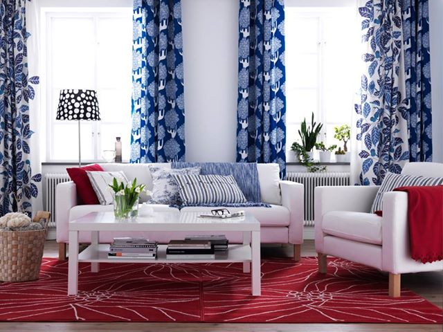4th of July Decoration Ideas_living room | Love Happens blog