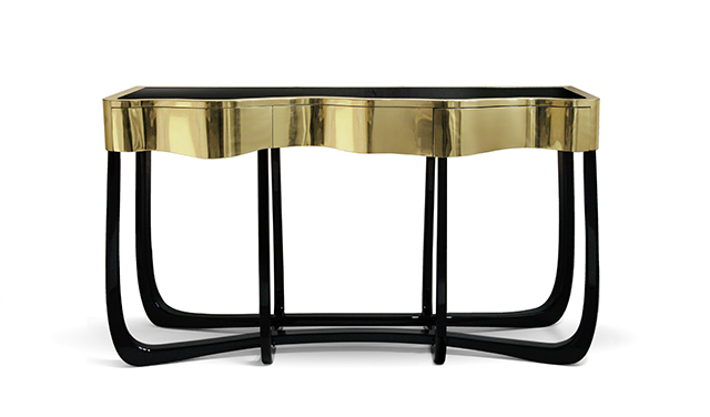 25 Black and Gold Furniture