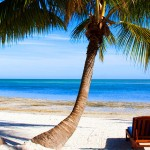 The Keys beach in Florida