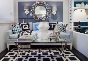 Jonathan Adler Sofa Living room   Love Happens blog