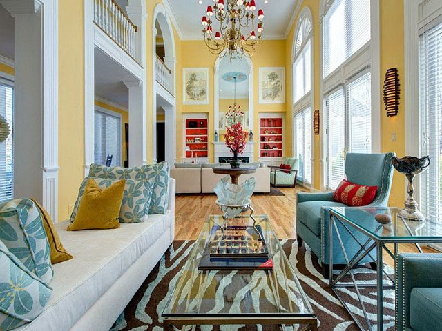 5 Color Palettes For Interiors By Romantic Homes Magazine 5 Color Palettes For Interiors By Romantic
