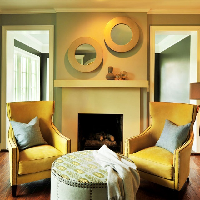 5 Color Palettes for Interiors by Romantic Homes Magazine ...
