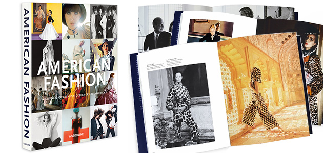 If you are lover of books and fashion, then this is right up your alley. These richly illustrated volumes celebrate the history of fashion design in this country, with exclusive behind-the-runway glimpses into the private lives of the most acclaimed American designers.