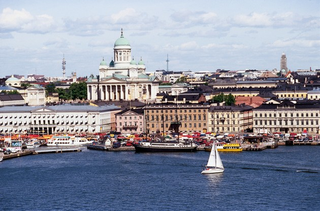 """""""Try visiting Helsinki. It is a cosmopolitan city but with a beat more relaxed"""""""