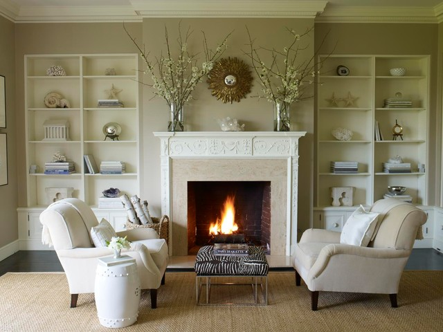 Fresh ideas to decorate my living room in summer for How to decorate living room with fireplace